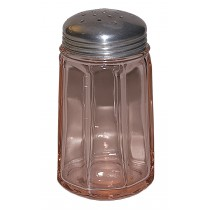 Paden City Depression Pink #401 Sugar Shaker or McKee #20 Sugar Shaker HTF COLOR