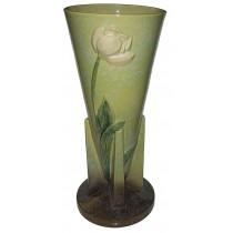 "Roseville Wincraft Chartreuse #289-18""Floor Vase / Umbrella Stand"