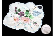 Blue Ridge Tussie Mussie Leaf Relish Dish