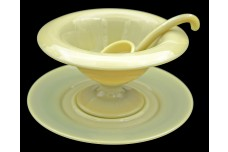 Cambridge Primrose Yellow Mayonnaise and Ladle