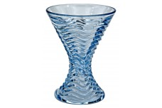 Duncan and Miller #112 Caribbean Blue Cocktail Goblet