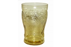 Federal Glass Normandie Amber Flat Water Tumbler