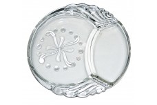 Federal Glass Company Columbia Hard to Find Snack Plate