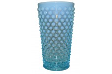 Fenton Hobnail Blue Opalescent #3946 - 16 ounce Lemonade Tumbler SCARCE