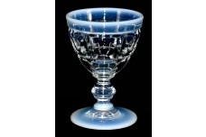 Fenton Art Glass Plymouth (#1620) French Opalescent Wine Goblet
