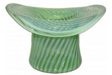 "Fenton Spiral Optic #1920 - 12"" RARE Hat Vase"