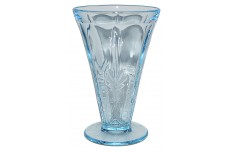 Fostoria Baroque Blue Footed Ice Tea Tumbler