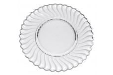 "Fostoria Colony Crystal 9 1/4""  Dinner Plate"