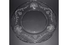 Fostoria Crystal Mayflower #332 Dinner Plate
