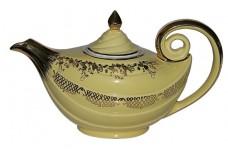 Hall China Aladdin Daffodil Squiggle Teapot
