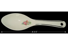 Hall China Blue Bouquet Spoon GREAT DECALS