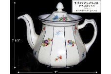 Hall China Tricolator Buchanan Floral Coffee Pot - Outstanding!
