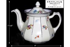 Hall China Tricolator Buchanan Floral Coffee Pot - Outstanding!