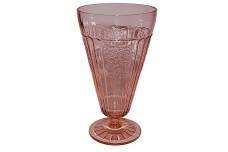 Hocking Mayfair Pink Footed Ice Tea Tumbler