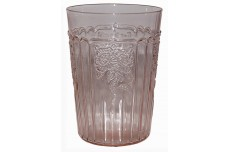 Hocking Mayfair Pink Flat 9 oz. Tumbler