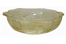 "Hocking Princess Yellow 6"" Oatmeal / Cereal Bowl"