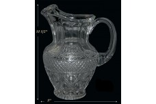 Imperial Cape Cod Crystal Blown Ice Tea Pitcher PRISTINE