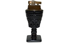 Imperial Cape Cod #1602 Ebony / Black Hard to Find Cigarette Lighter