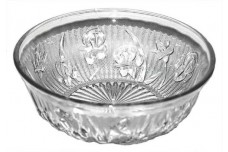 Jeannette Iris Crystal Vintage Hard to Find Cereal Bowl