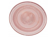 Jeannette Pink Anniversary Hard to Find Dinner Plate