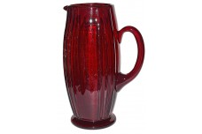 New Martinsville Oscar Ruby Large Pitcher / Jug