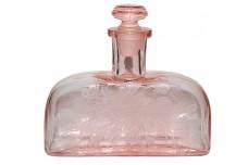 Paden City Ardith Pink Flat Decanter