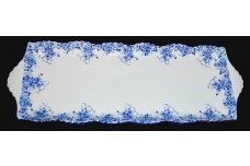 Shelley Dainty Blue on Dainty Blank Scarce Bread Tray
