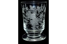 Tiffin Oneida Footed Whiskey Tumbler - HARD TO FIND