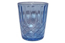 U.S. Glass Aunt  Aunt Polly Blue Tumbler