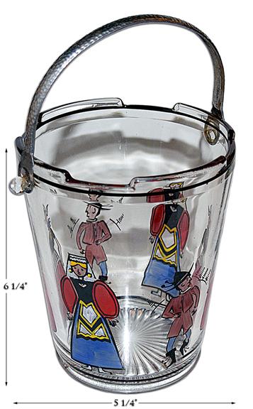 Dunbar Dutch Figure Ice Bucket