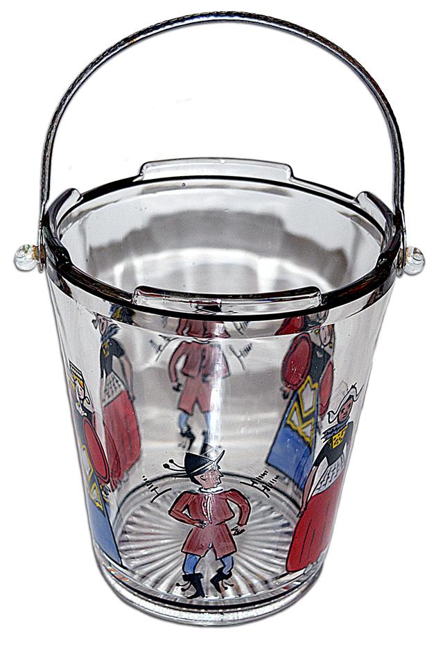 Dunbar Dutch Figure Ice Bucket TOS
