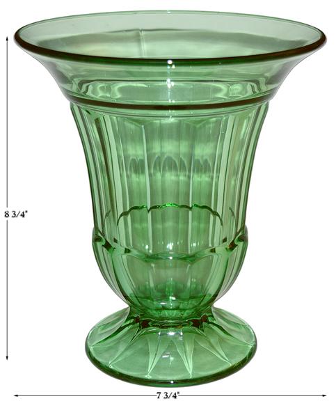 Duncan and Miller Spicer Footed Vase