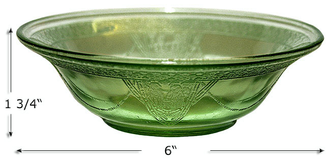 Georgain Green Cereal Bowl