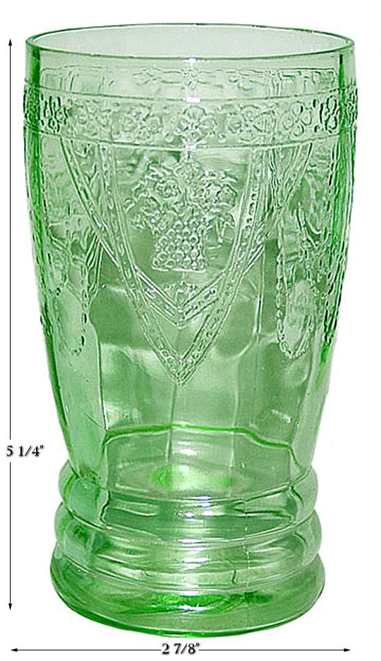 Federal Georgian Ice Tea Tumbler