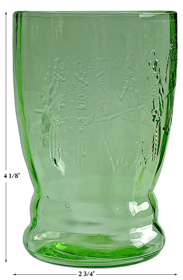 Federal Green Parrot 9 Ounce Tumbler