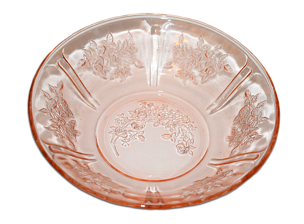 Sharon Federal Pink Cereal bowl Another View