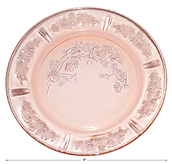 Sharon Federal Pink Dinner Plate