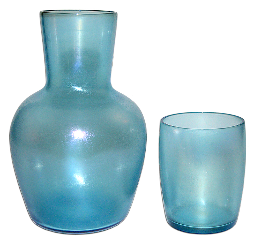 Fenton Celeste Blue Tumble Up / Night Set Apart