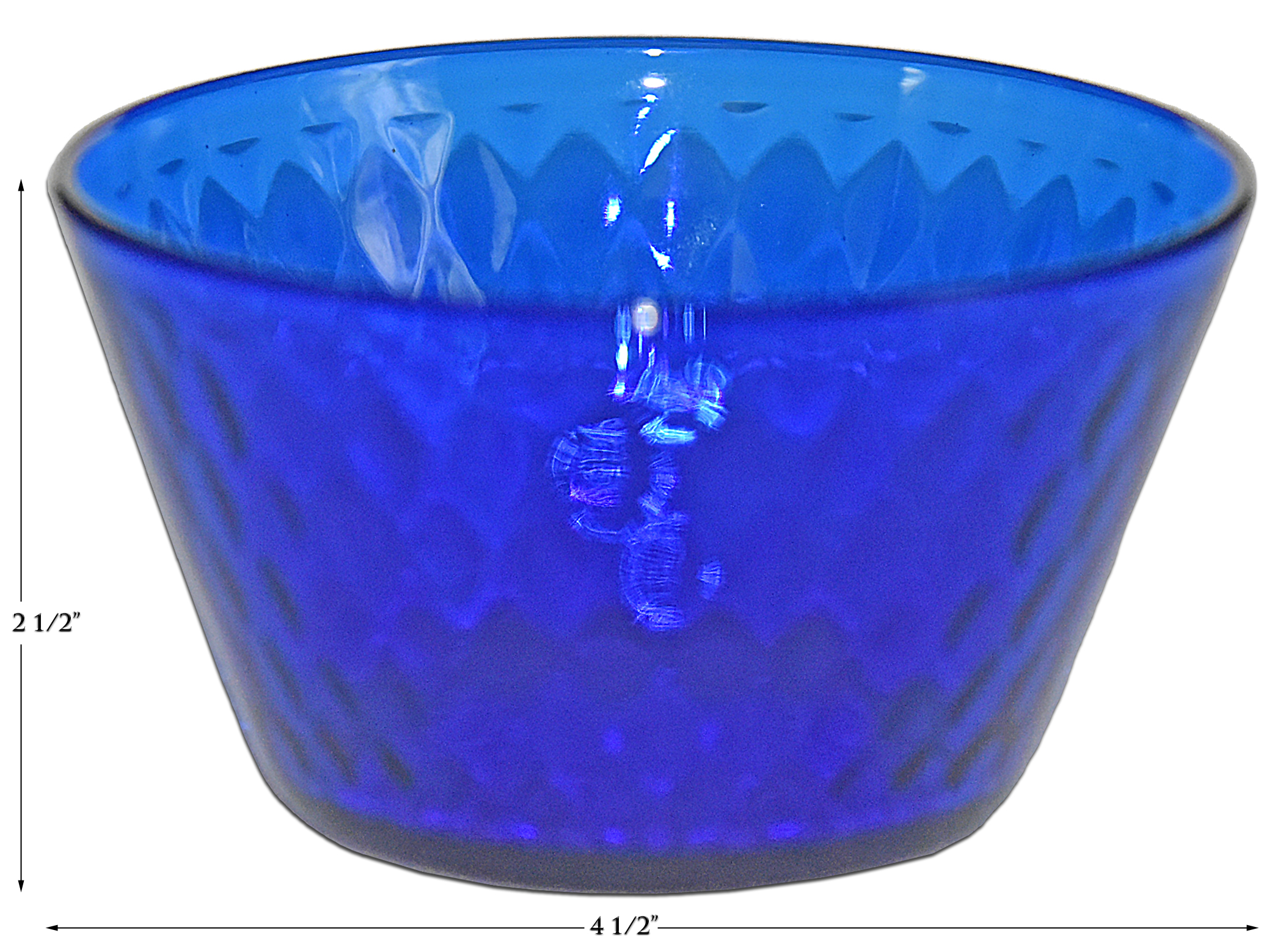 Fenton Diamond Optic Finger Bowl