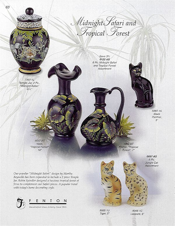 Fenton Tropical Forest and Midnight Safari Ad