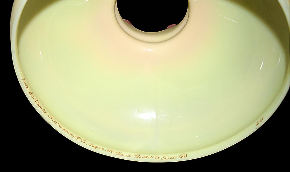 Fenton Scenic Lamp Signature
