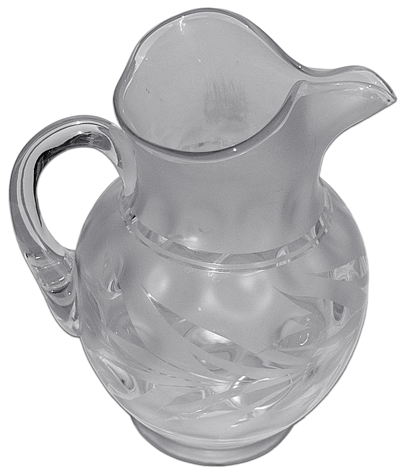 Fenton Silvertone Pitcher The Other Side