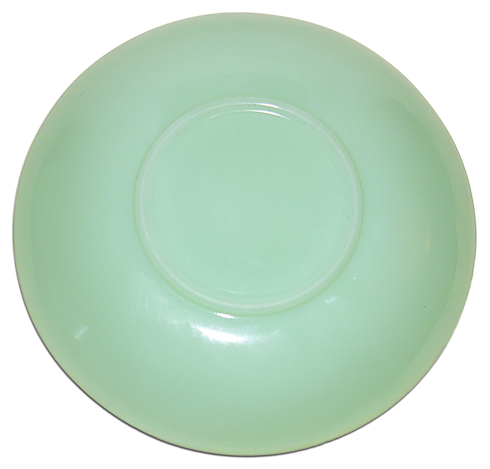 Fireking Jadite Restaurant Demitasse Saucer Bottom