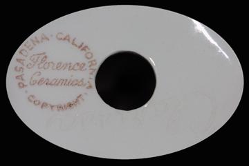 Florence Clarissa Backstamp