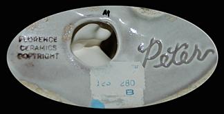 Florence Ceramics Peter Backsamp
