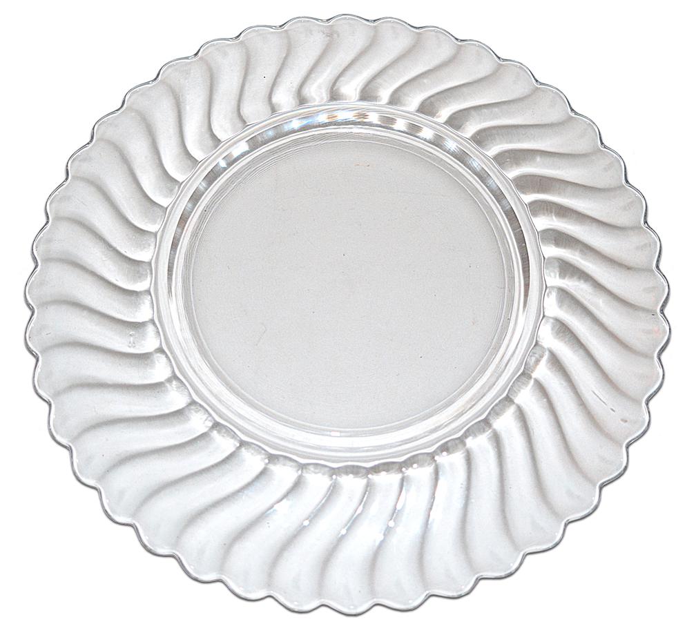 Fostoria Colony Dinner Plate Back