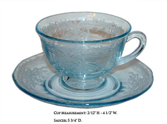 Fostoria June Cup and Saucer