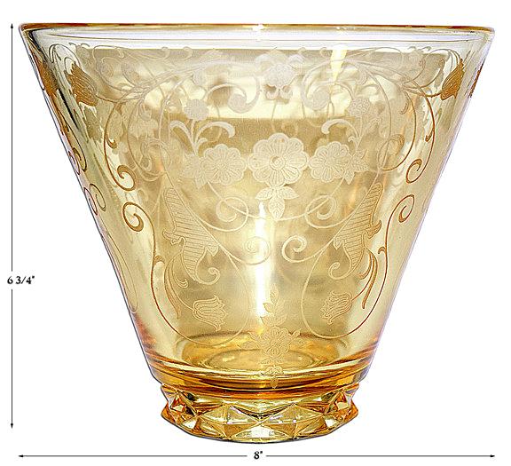 Fostoria Minuet Large Vase