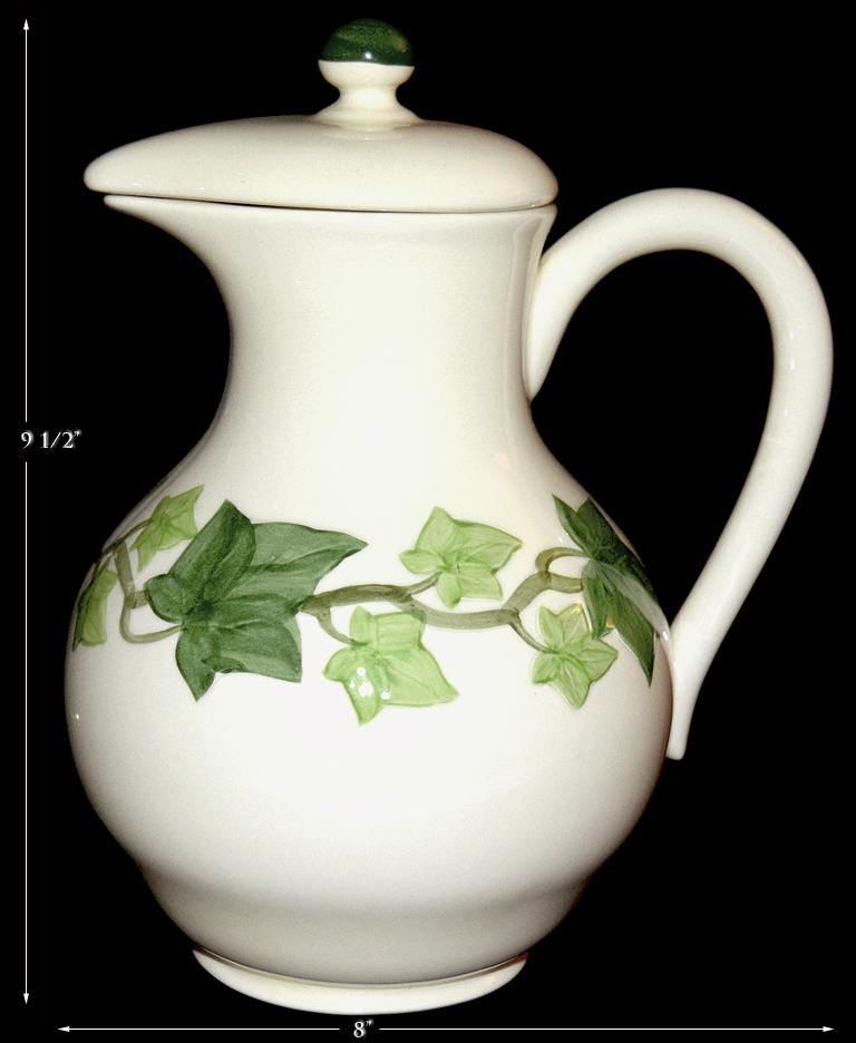 Franciscan Ivy Coffee Pot / Carafe