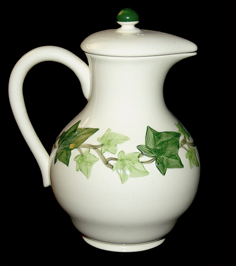 Franciscan Ivy Carafe /Coffee Pot the other side
